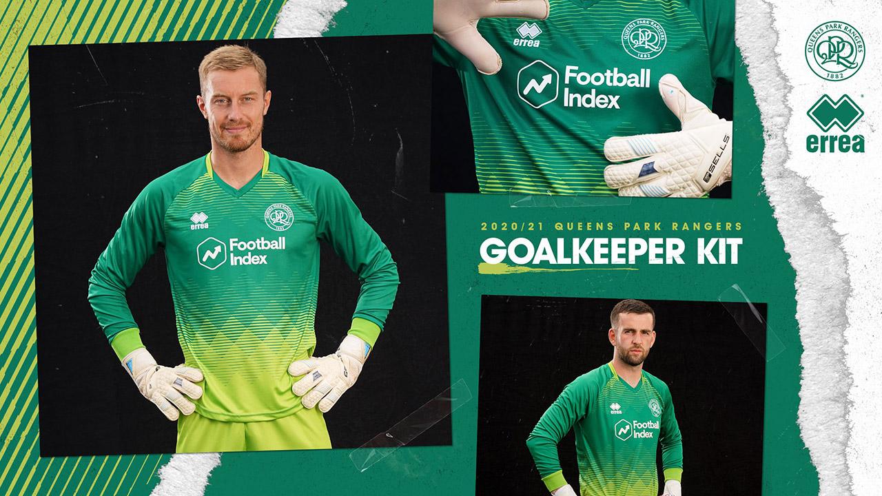Camisas do QPR FC 2020-2021 Errea Goleiro