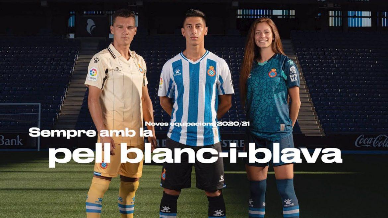 Camisas do RCD Espanyol 2020-2021 Kelme a