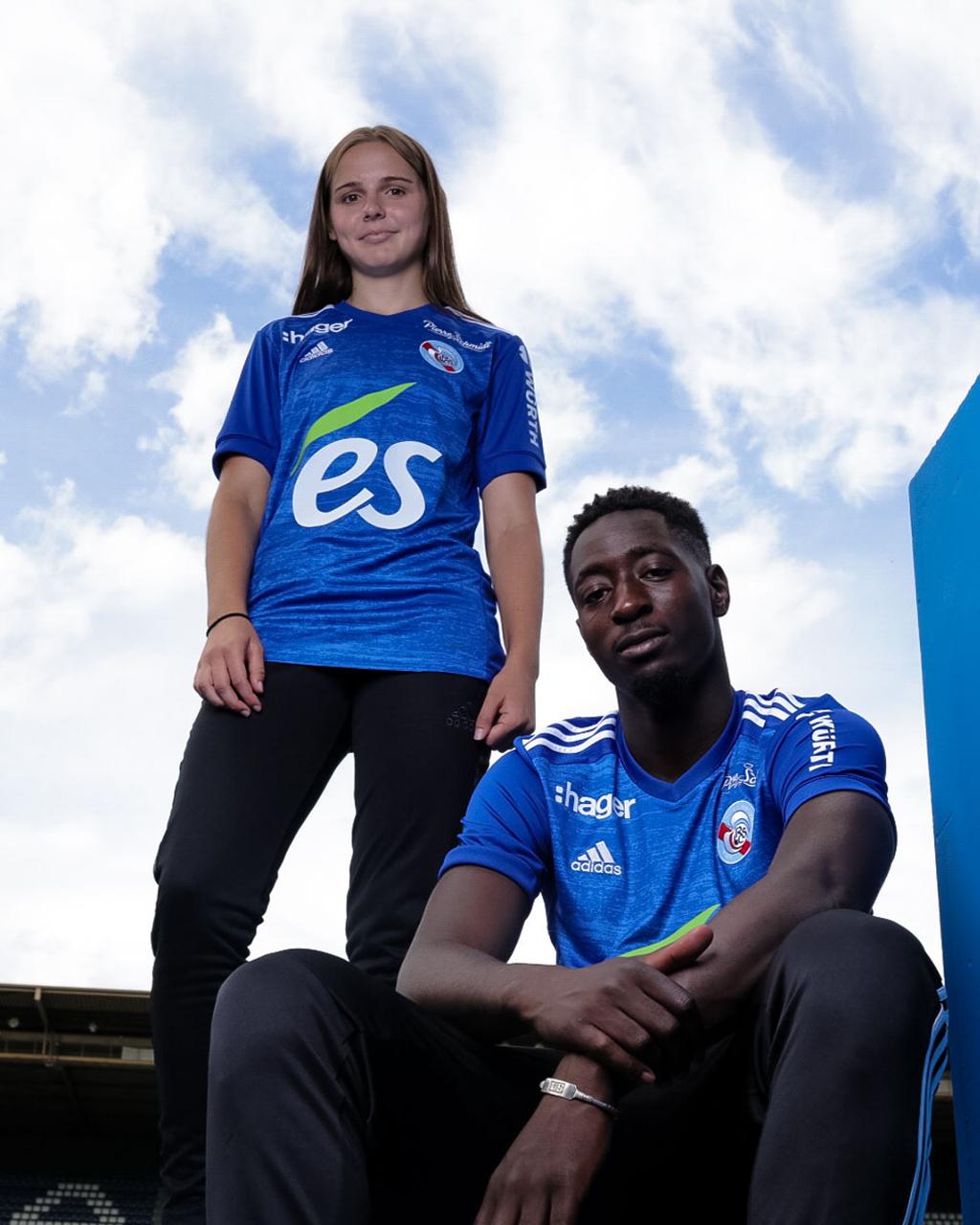 Camisas do Racing Strasbourg 2020-2021 Adidas