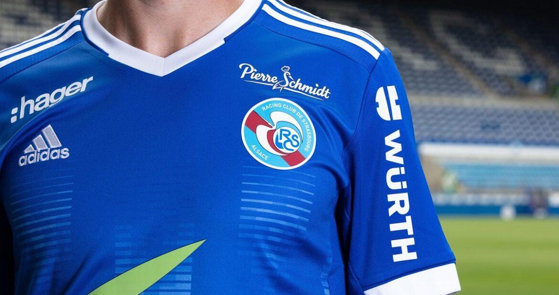 Camisas do Racing Strasbourg 2021-2022 Adidas