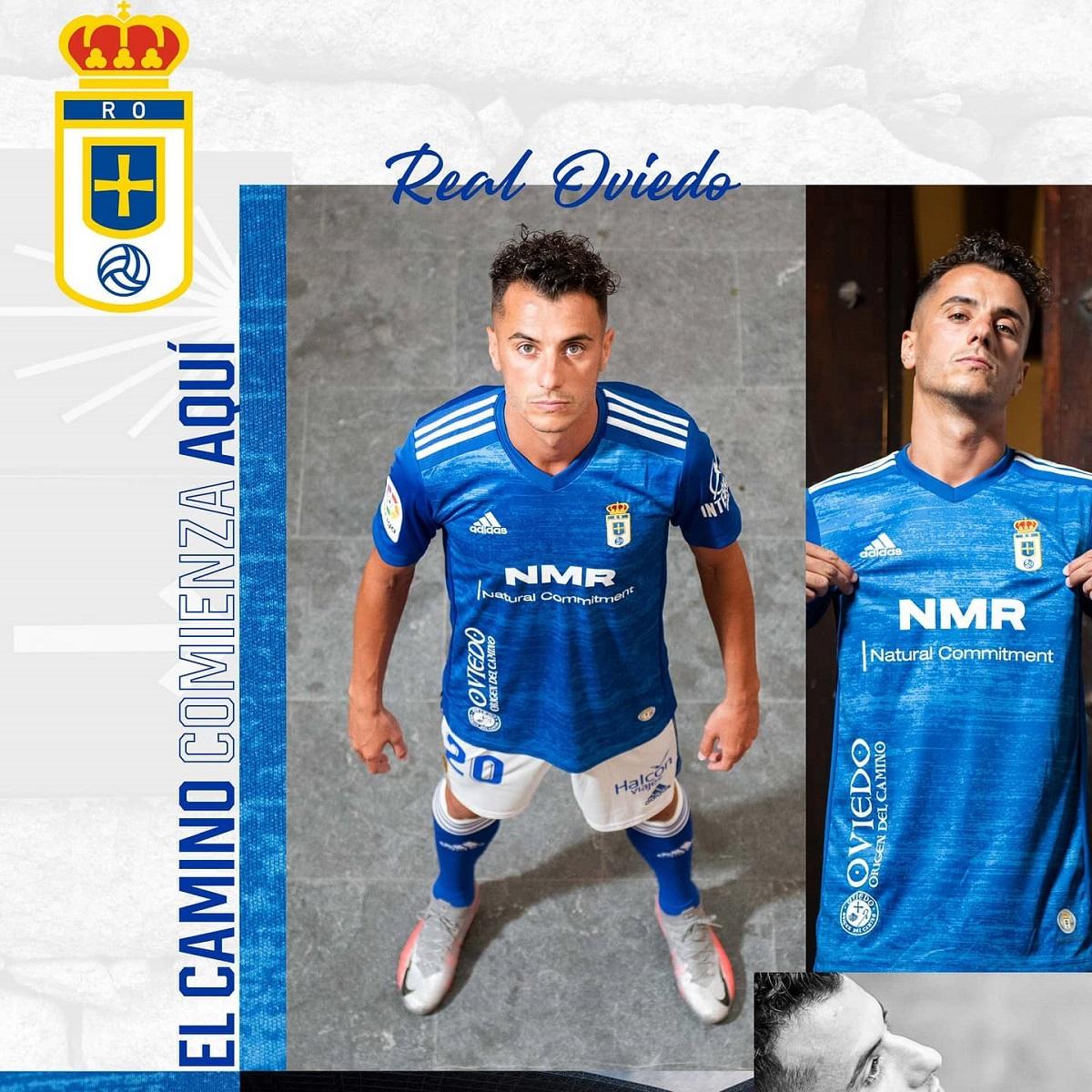 Camisas do Real Oviedo 2020-2021 Adidas