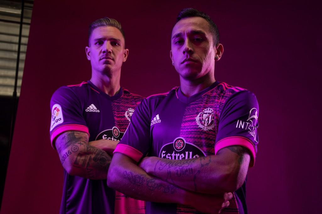 Camisas do Real Valladolid 2020-2021 Adidas