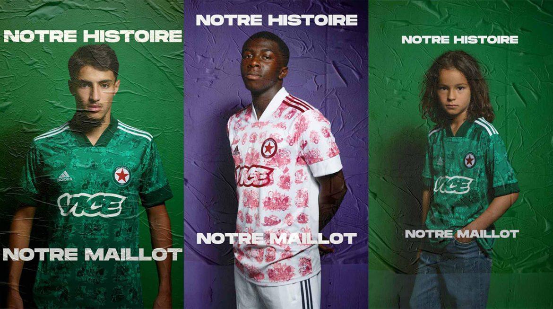 Camisas do Red Star FC 2020-2021 Adidas a
