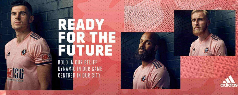 Camisas do Sheffield United 2020-2021 Adidas