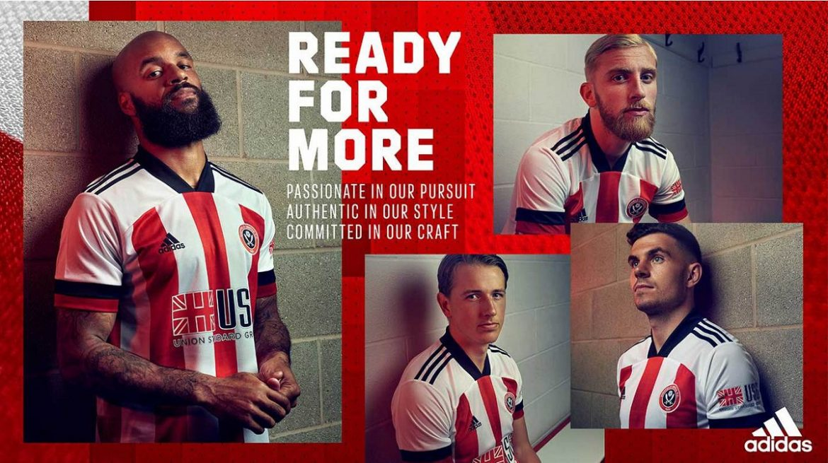 Camisas do Sheffield United 2020-2021 Adidas
