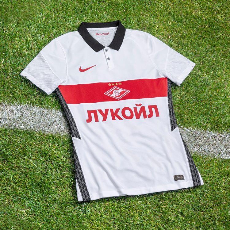 Camisas do Spartak Moscou 2020-2021 Nike