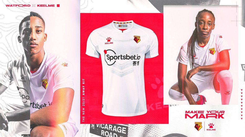 Camisas do Watford FC 2020-2021 Kelme