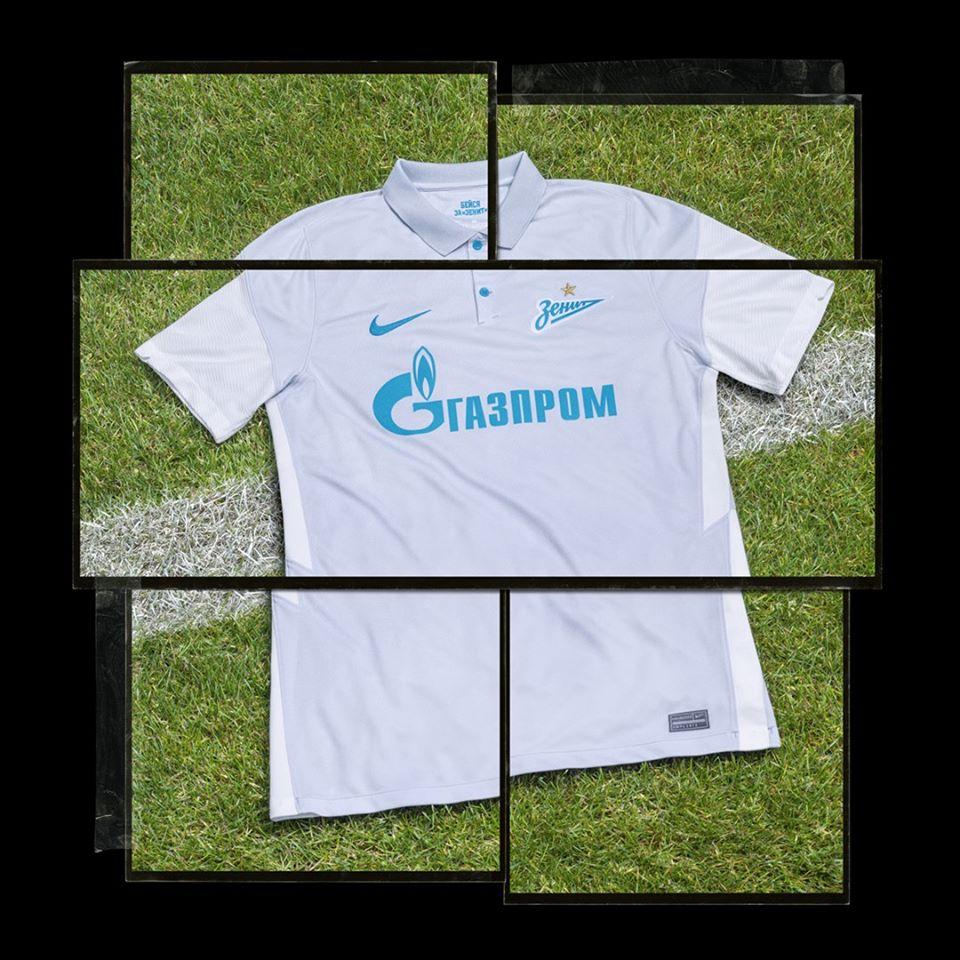 Camisas do Zenit 2020-2021 Nike Reserva
