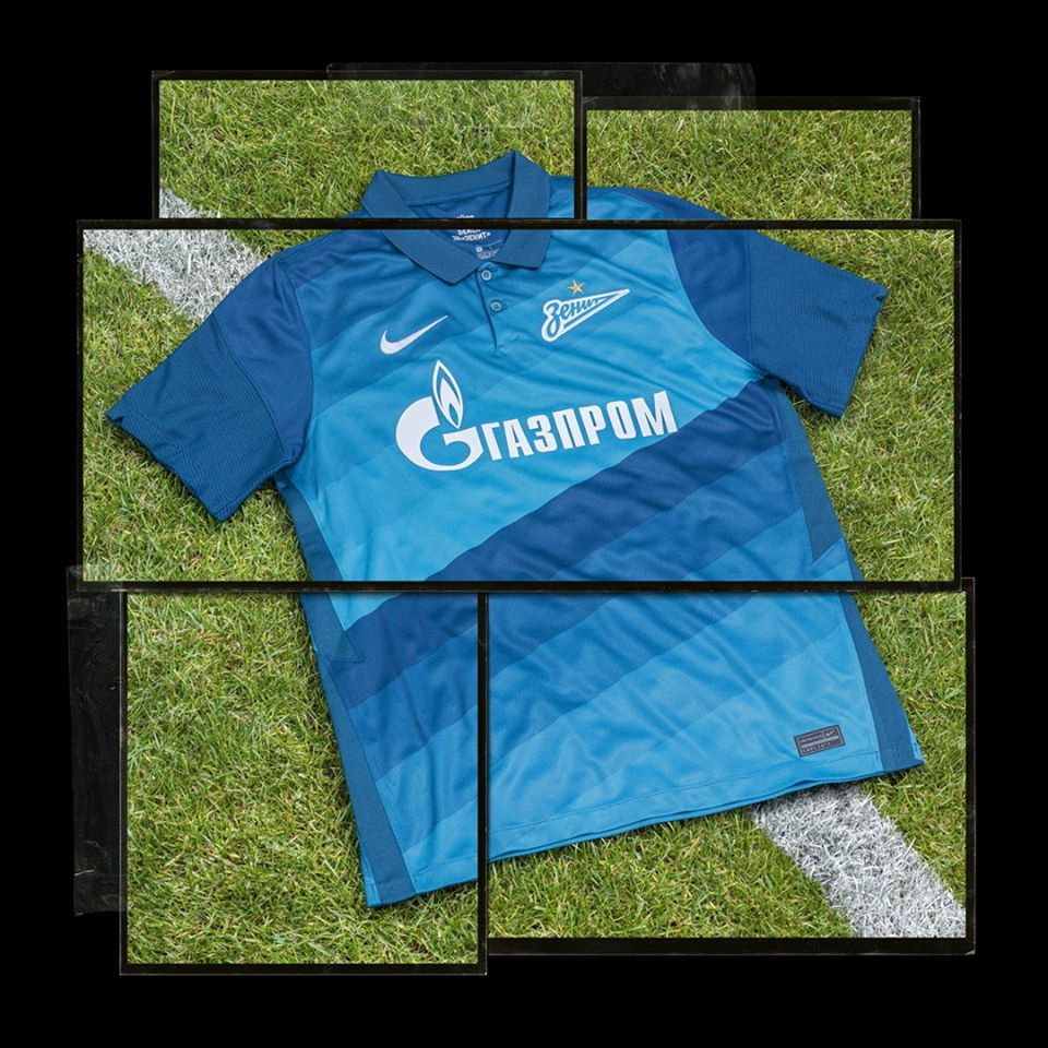Camisas do Zenit 2020-2021 Nike Titular