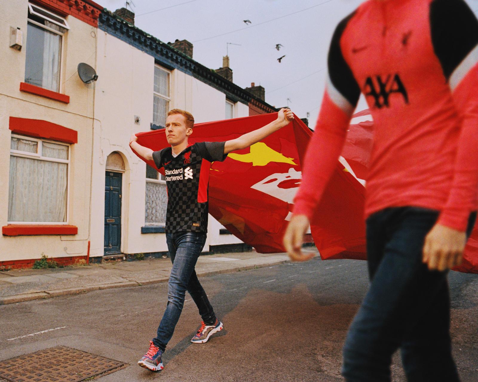 Terceira camisa do Liverpool FC 2020-2021 Nike kit