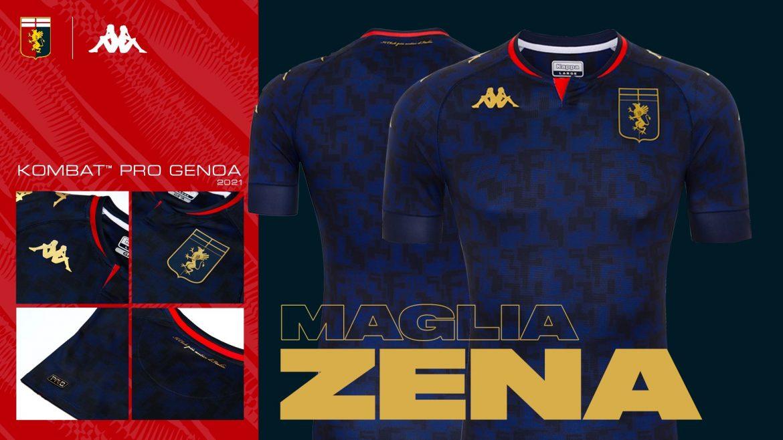 Terceira camisa da Genoa CFC 2020-2021 Kappa