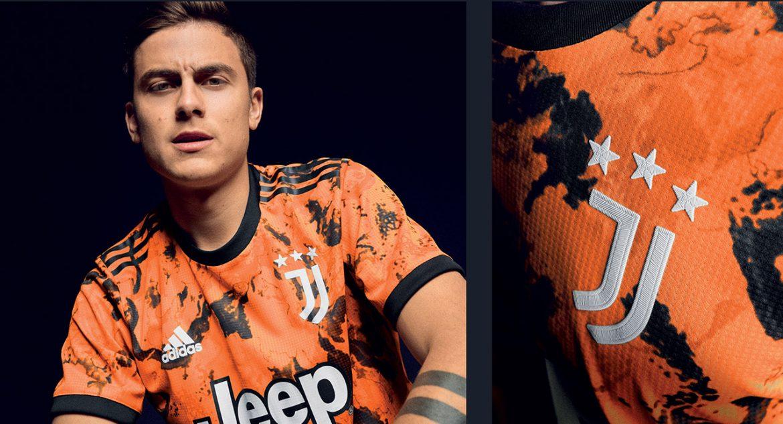 Terceira camisa da Juventus 2020-2021 Adidas a