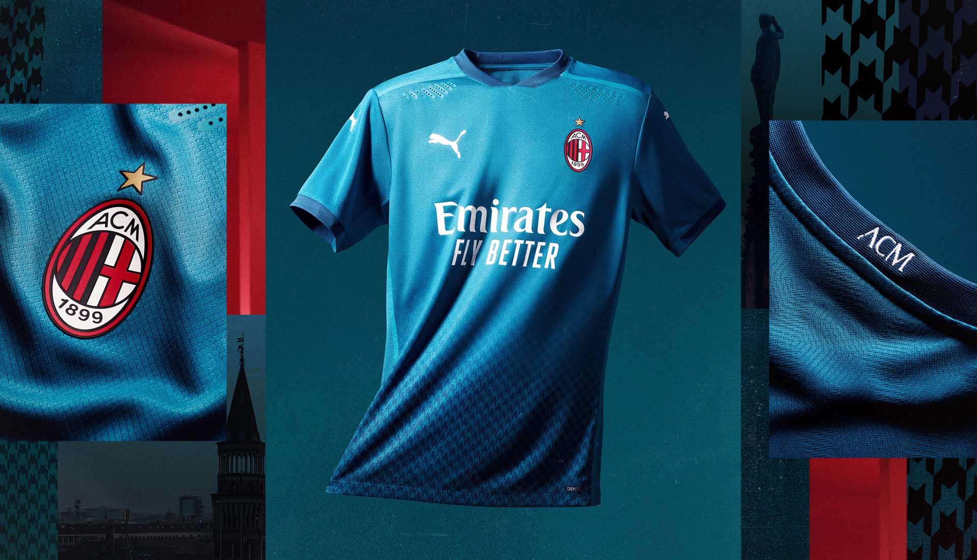 Novas Camisas Do Ac Milan 2020 2021 Puma Mantos Do Futebol