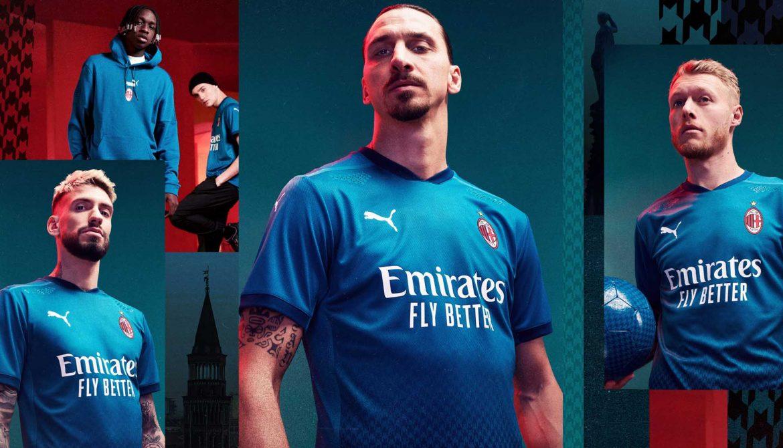 Terceira camisa do AC Milan 2020-2021 PUMA