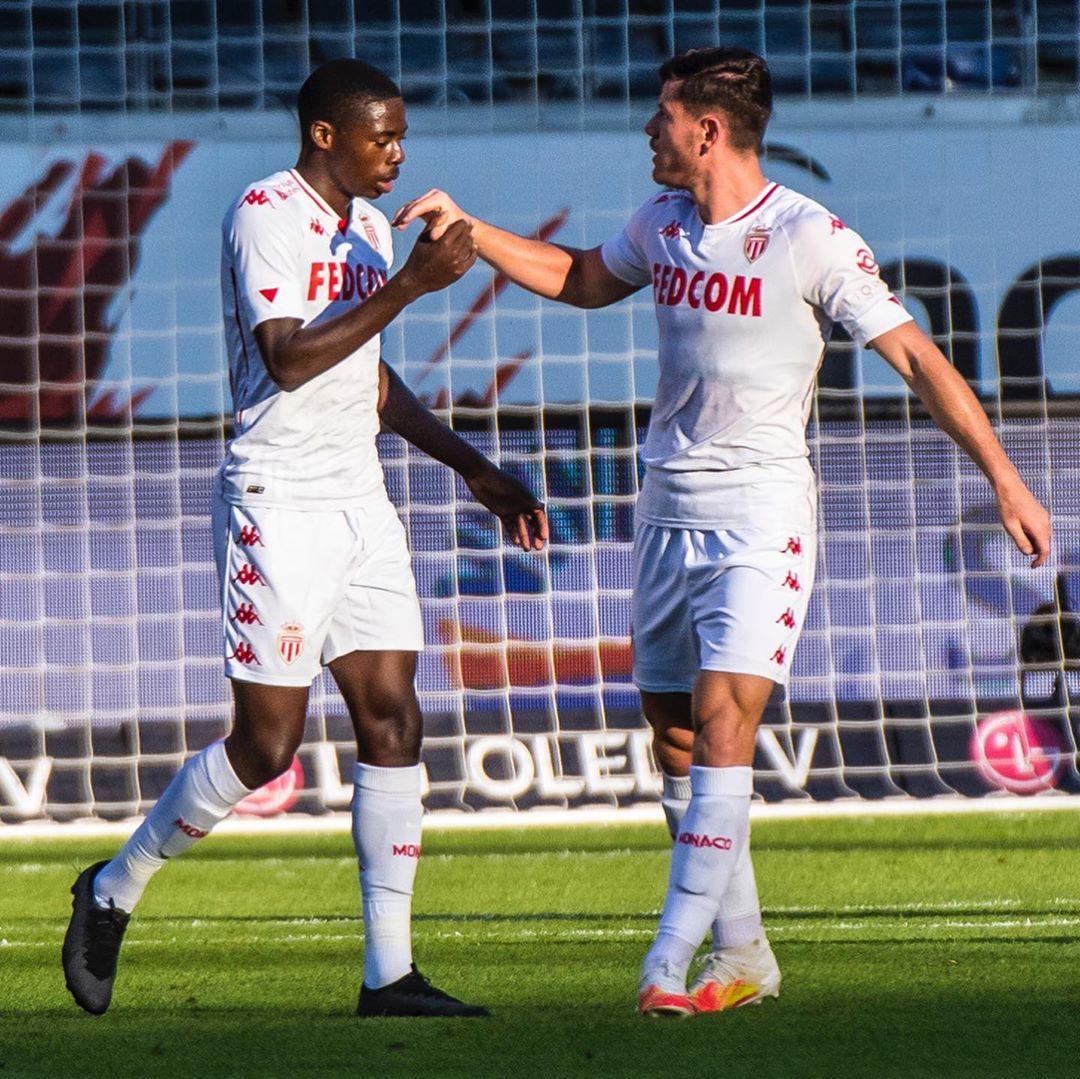 Terceira camisa do AS Monaco 2020-2021 Kappa