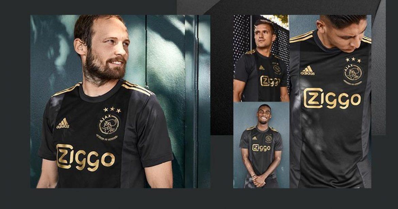 Terceira camisa do Ajax 2020-2021 Adidas a