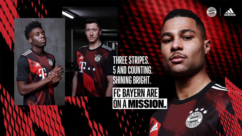 Terceira camisa do Bayern de Munique 2020-2021 Adidas a