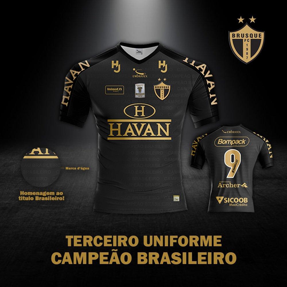 Terceira camisa do Brusque FC 2020-2021 Embratex
