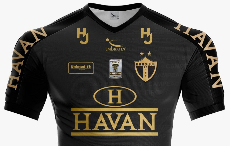 Terceira camisa do Brusque FC 2020-2021 Embratex a