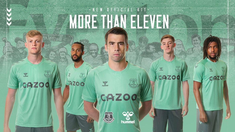 Terceira camisa do Everton 2020-2021 Hummel