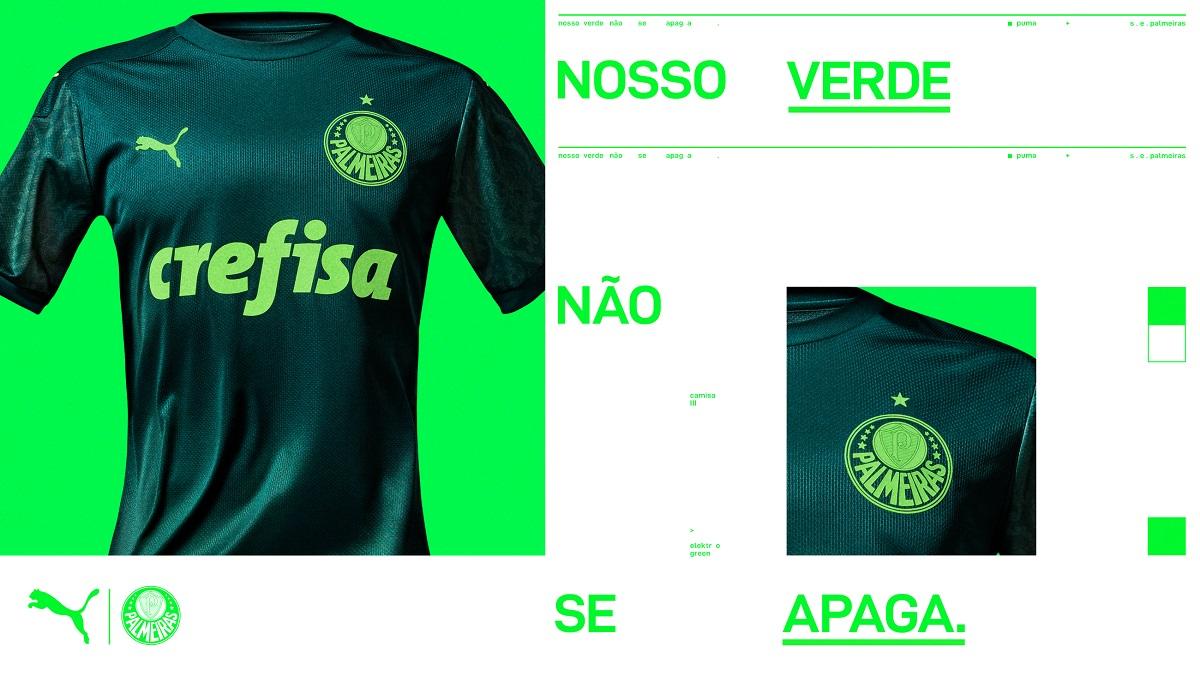 Recomendado Abundancia jerarquía  Terceira camisa do Palmeiras 2020-2021 PUMA » Mantos do Futebol
