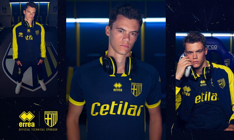 Terceira camisa do Parma Calcio 2020-2021 Erreà a