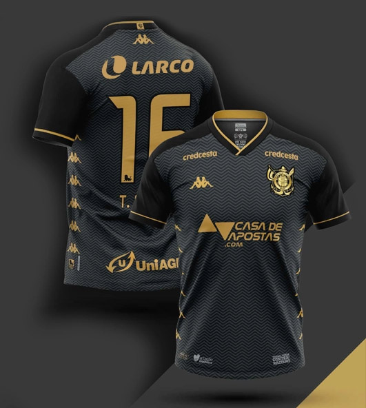 Terceira camisa do Vitória 2020-2021 Kappa
