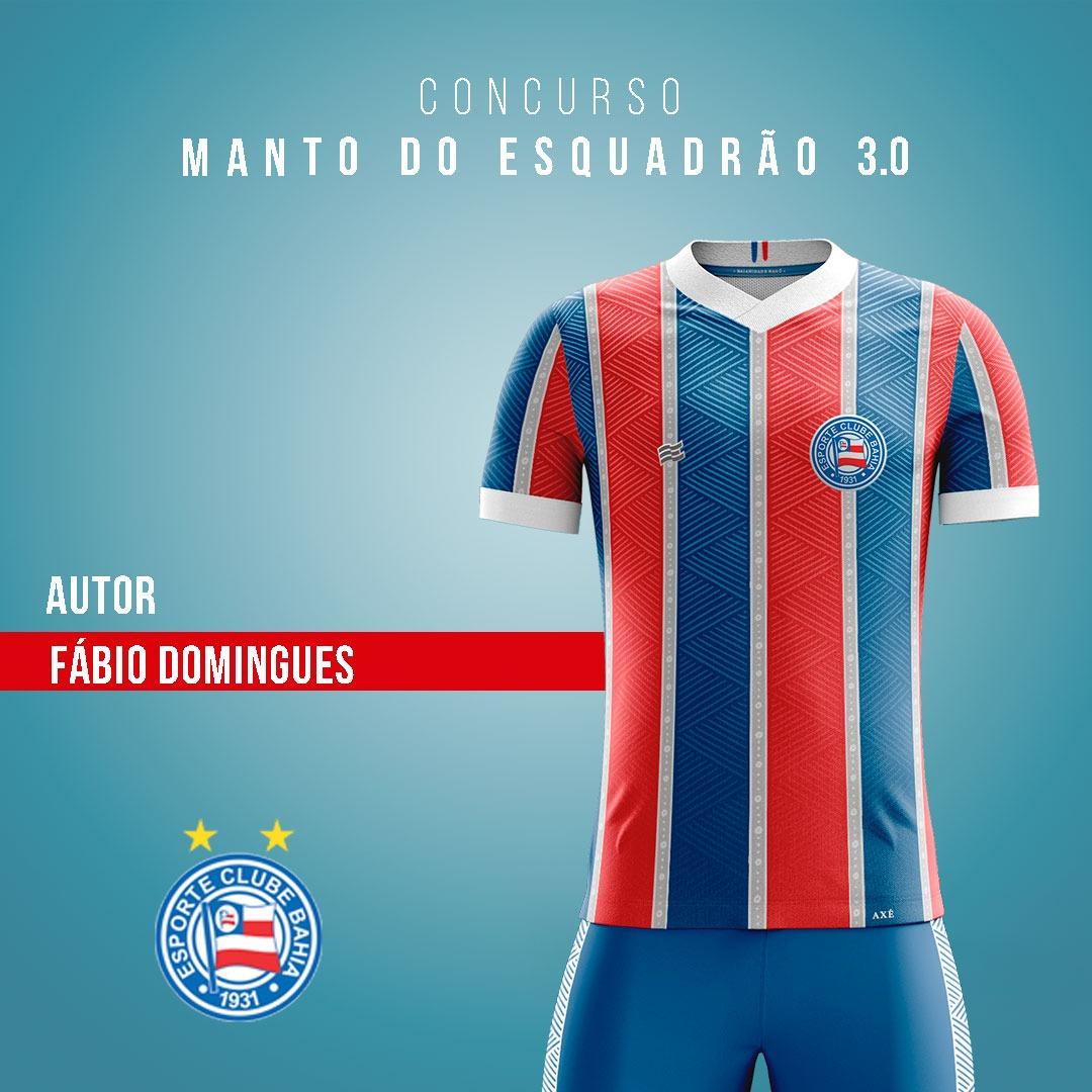 Manto do Esquadrão 3.0: EC Bahia revela finalistas de camisas para 2021 02-fabio