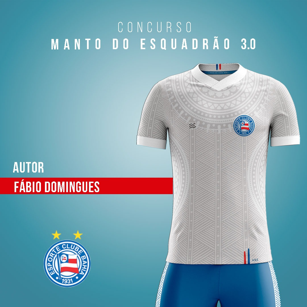 Manto do Esquadrão 3.0: EC Bahia revela finalistas de camisas para 2021 03-fabio