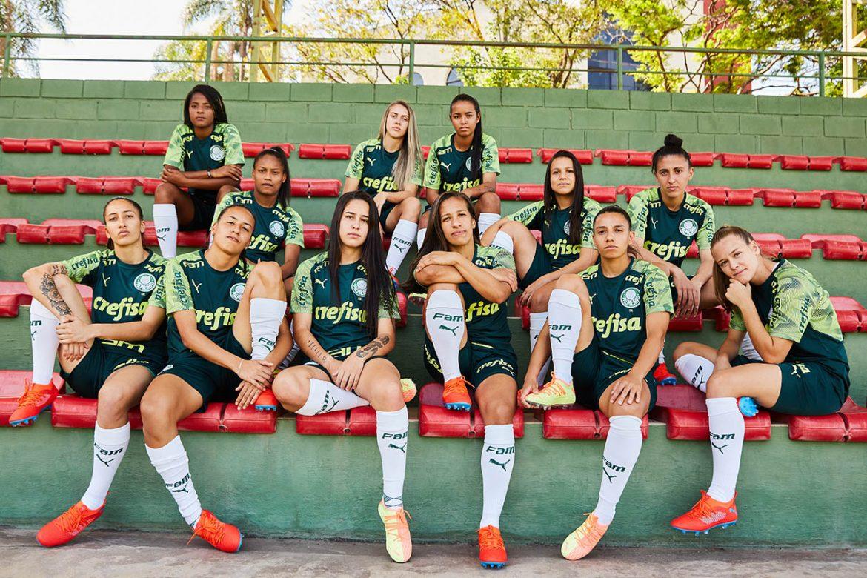 Em acordo inédito, PUMA patrocinará 23 jogadoras do time feminino do Palmeiras