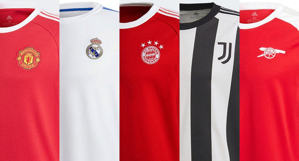 Adidas lança coleção Icon 2020-2021 para seus times europeus