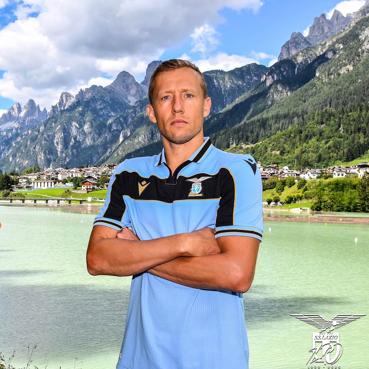 Camisa da Champions League da Lazio 2020-2021 Macron