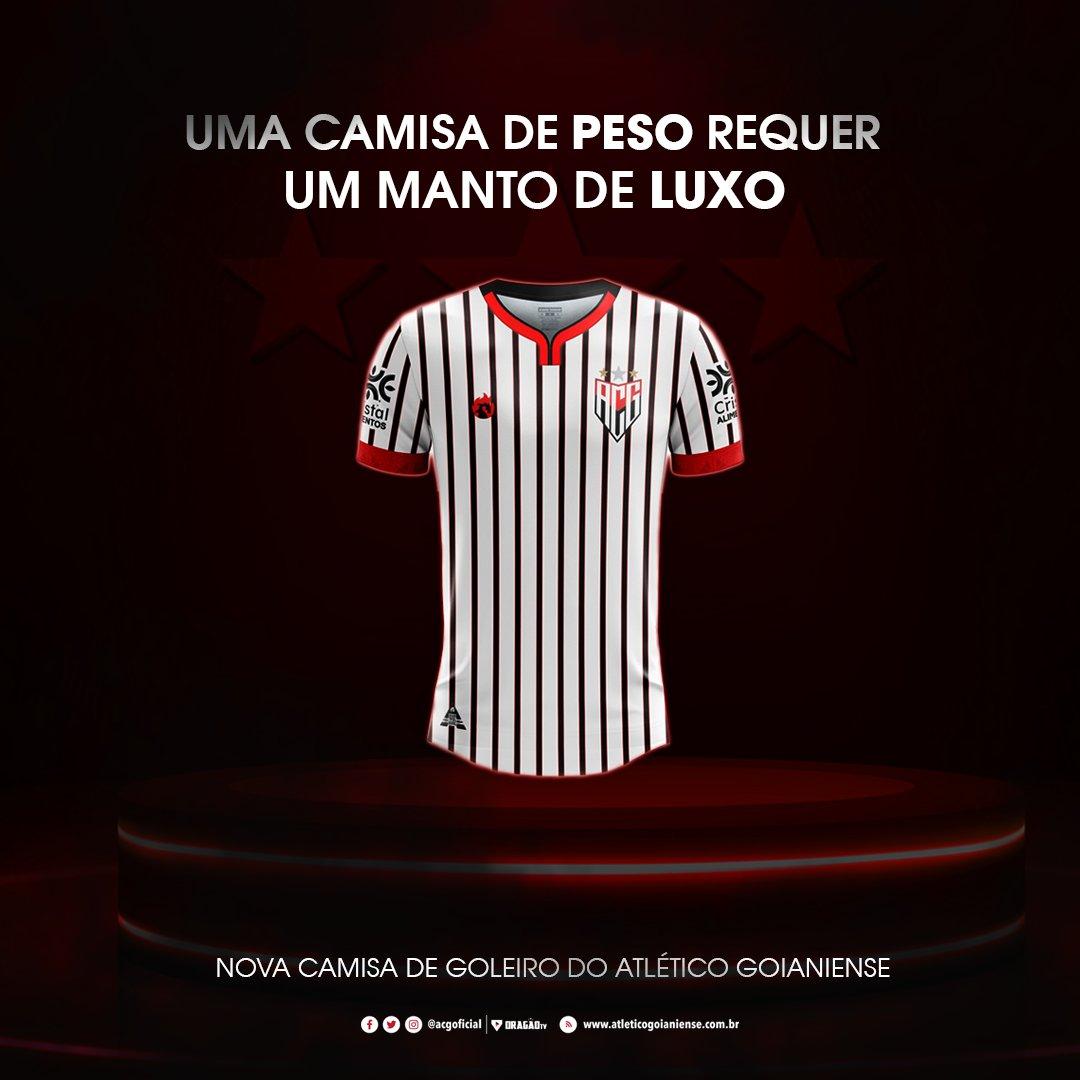 Camisa de goleiro do Atlético-GO 2020-2021 Dragão Premium
