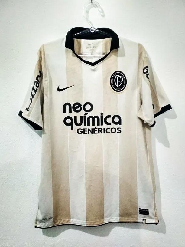 Camisa do Centenário Corinthians 2010 Nike