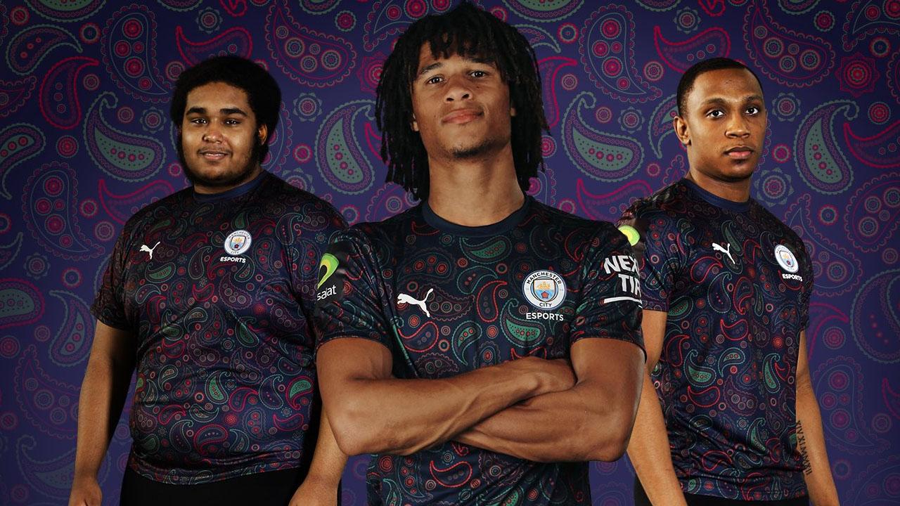 Camisa Esports Manchester City 2020 2021 Puma Mantos Do Futebol