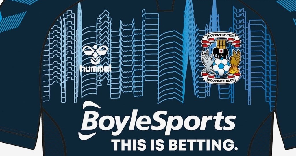 Camisa especial do Coventry City 2020-2021 Hummel