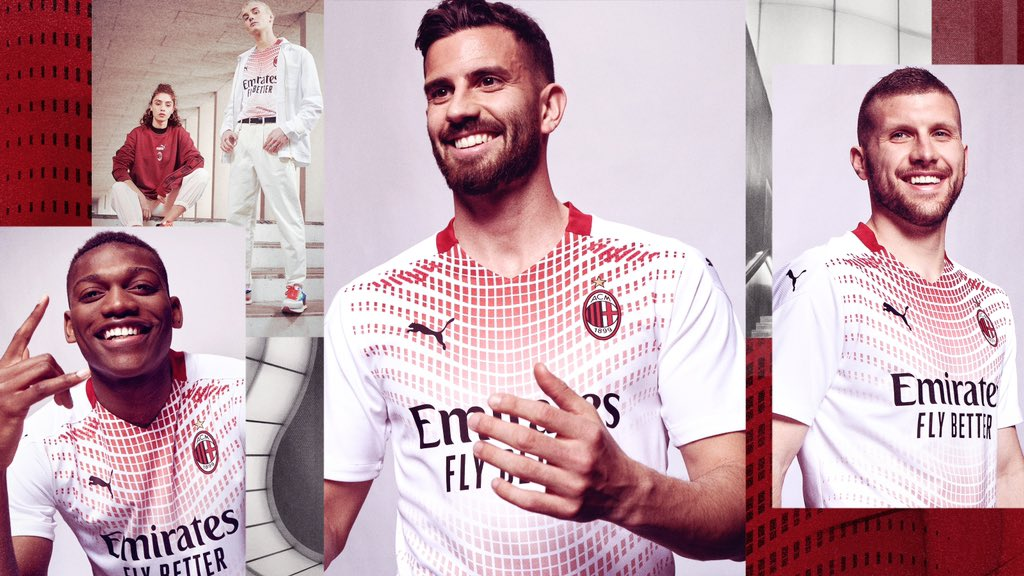 Camisa reserva do AC Milan 2020-2021 PUMA