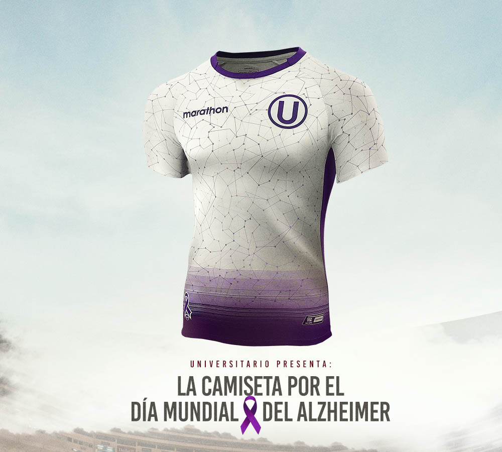 Camisas Dia Mundial do Alzheimer do Universitario 2020 Marathon