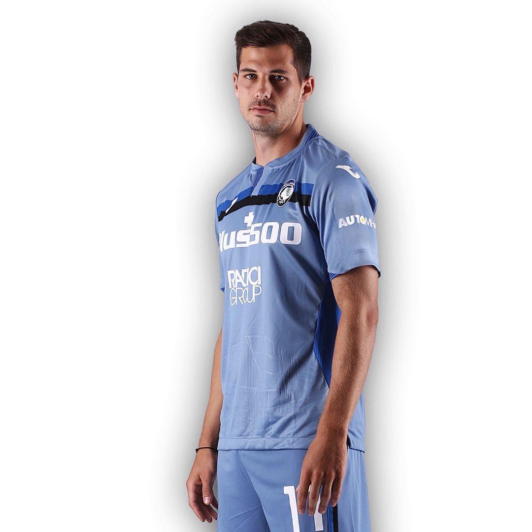 Camisas da Atalanta 2020-2021 JOMA Terceira