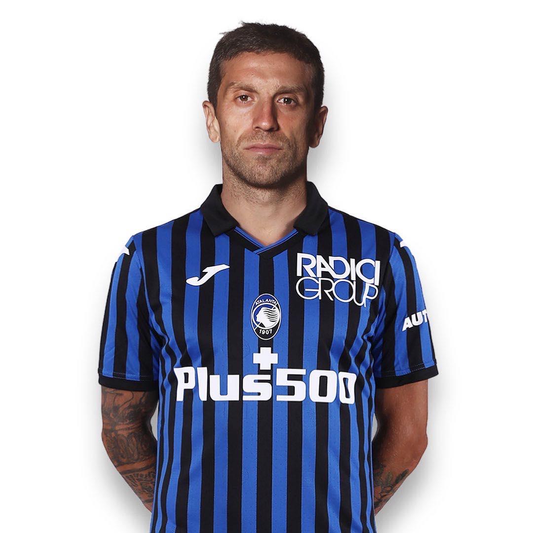 Camisas da Atalanta 2020-2021 JOMA Titular
