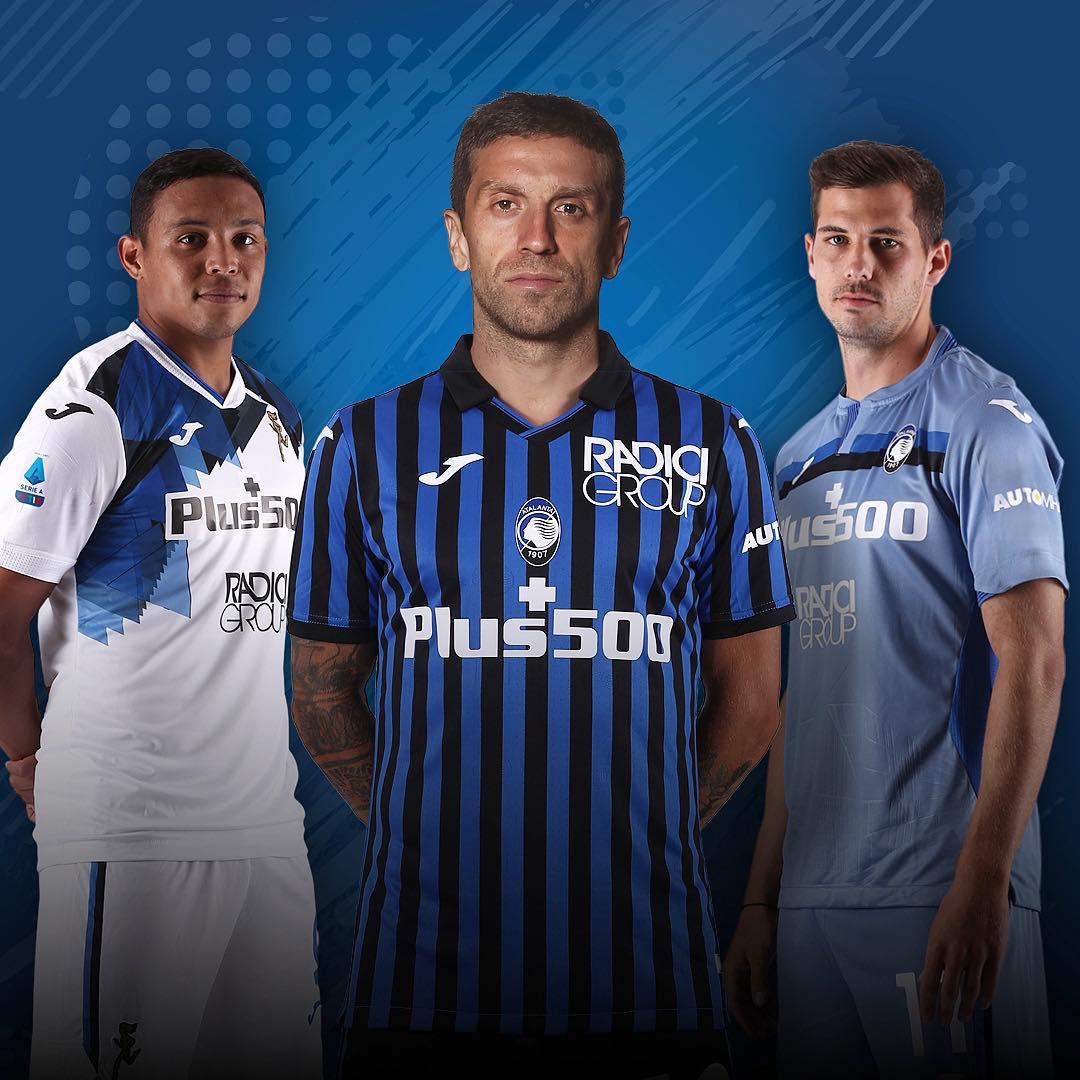 Camisas da Atalanta 2020-2021 JOMA