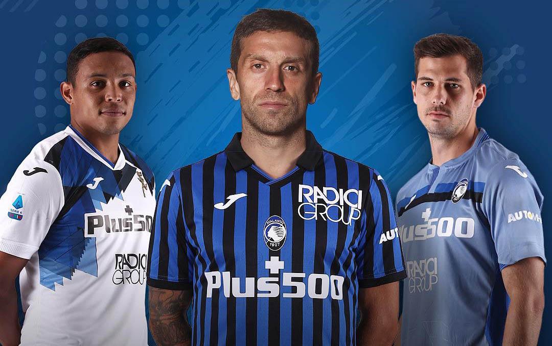 Camisas da Atalanta 2020-2021 JOMA abre