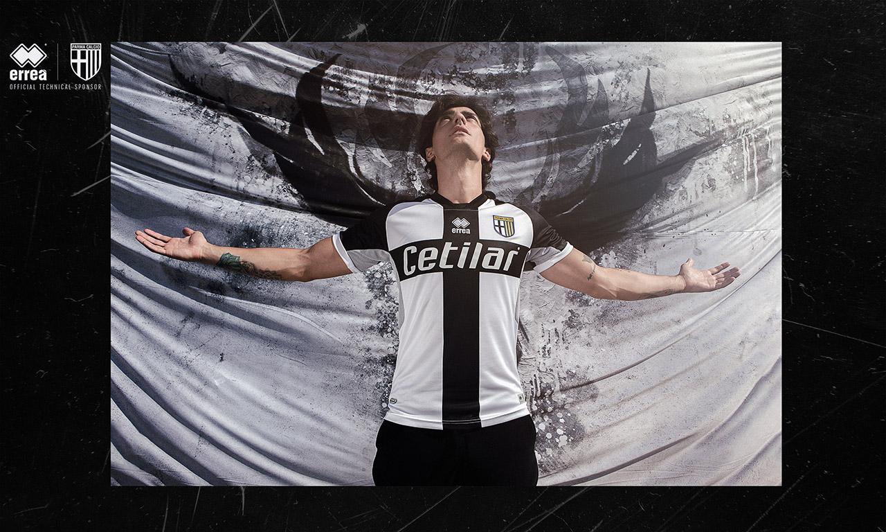 Camisas da Parma Calcio 2020-2021 Erreà