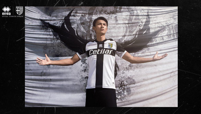 Camisas da Parma Calcio 2020-2021 Erreà a