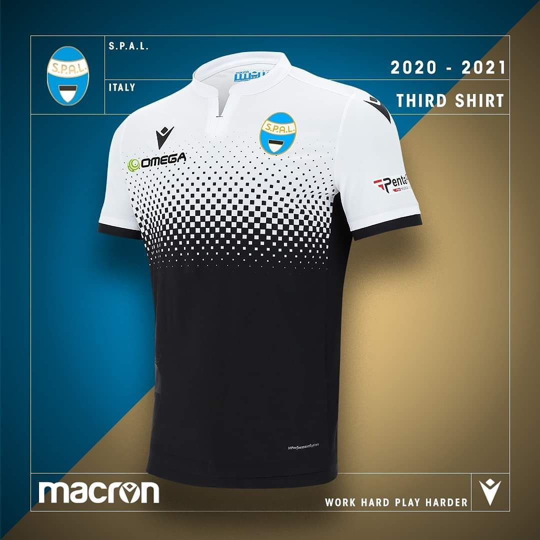 Camisas da SPAL 2020-2021 Macron