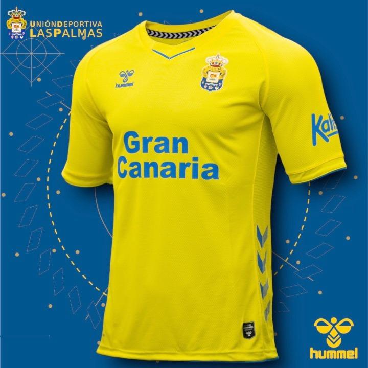 Camisas da UD Las Palmas 2020-2021 Hummel