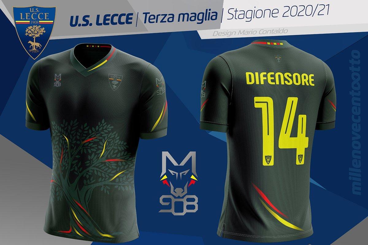 Camisas da US Lecce 2020-2021 M908