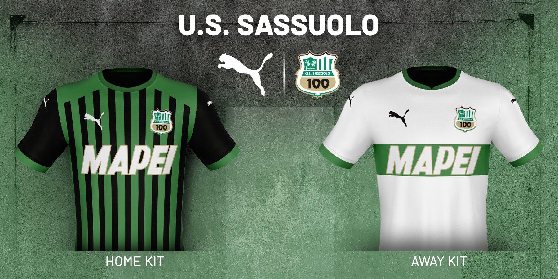 Novas camisas da US Sassuolo 2020-2021 PUMA » Mantos do Futebol
