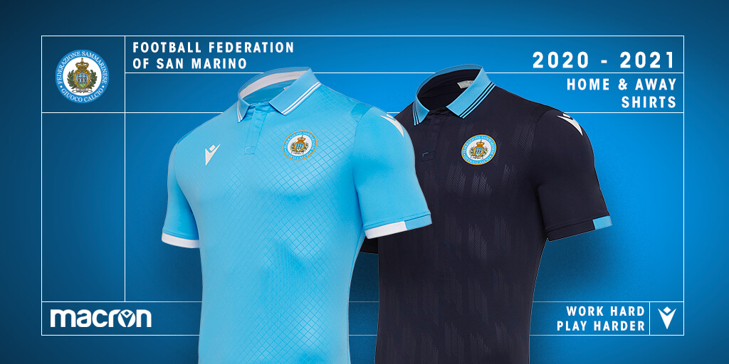 Camisas de San Marino 2020-2021 Macron