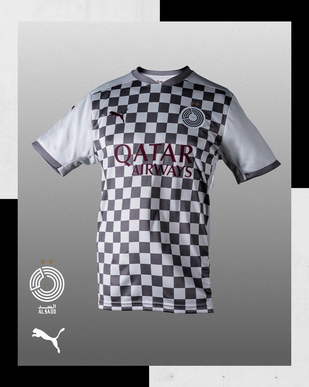 Camisas do Al-Sadd 2020-2021 PUMA